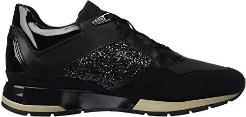 Geox D Shahira B, Zapatillas para Mujer, Negro (Black), 36 EU