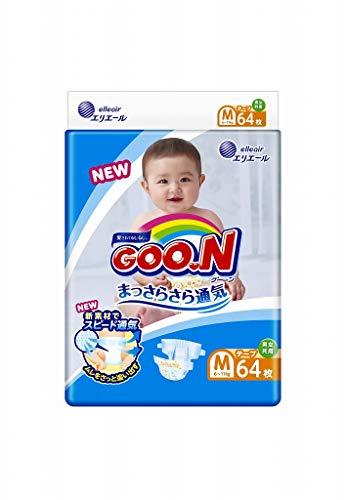 GOO.N (Goon) Pañales japoneses M (6-11 kg) 64 pc. // GOO.N (Goon) Japanese diapers nappies size - M (6-11 kg) 64 pc. // GOO.N (Goon) Японские подгузники size - M (6-11 kg.) 64 pc.
