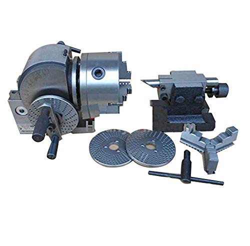 Huanyu Universal-Teilkopf für Fräsmaschine 4-100mm Spitzenhöhe