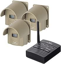 1/2 Mile Hosmart Rechargable Driveway Alarm Wireless Sensor System & Driveway Sensor Alert System Weatherproof Security Outdoor Motion Sensor & Detector