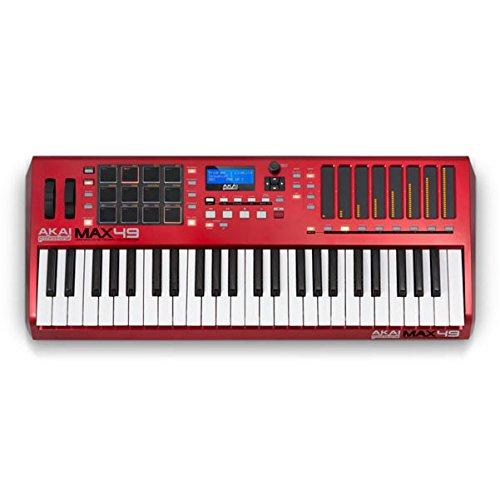 Akai Professional MAX49Advanced Clavier de contrôle USB/MIDI/CV Contrôleur