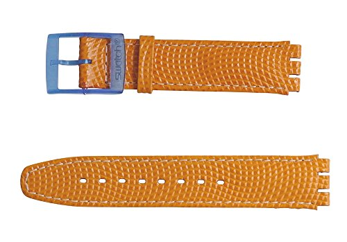 Swatch Armband 17mm ORANGE Juice ASEK104