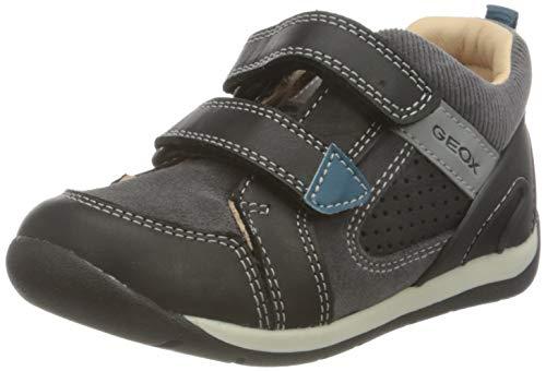 Geox Baby-Jungen B Each Boy A First Walker Shoe, (Black), 19 EU