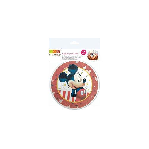 SCRAP COOKING Disque Azyme Mickey 20 cm
