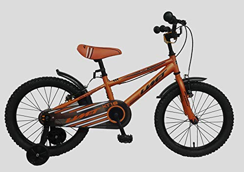 Umit Fahrrad Xt18, Unisex Kinder, orange, 18