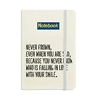 詩は決して常に微笑をしかめ ノートブッククラシックジャーナル日記A 5