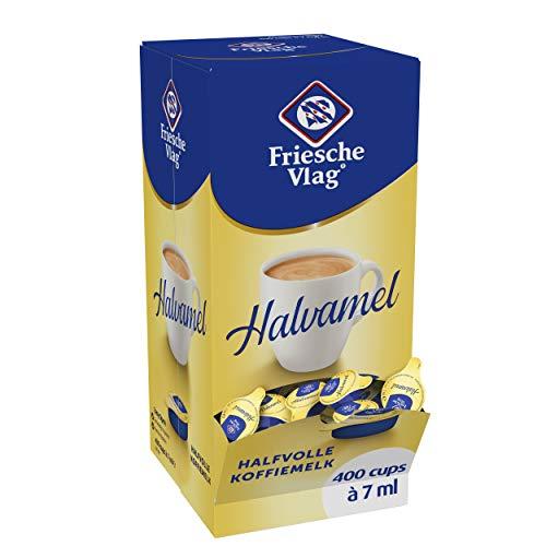Friesche Vlag Koffiemelk Halvamel 400 Cups Doos