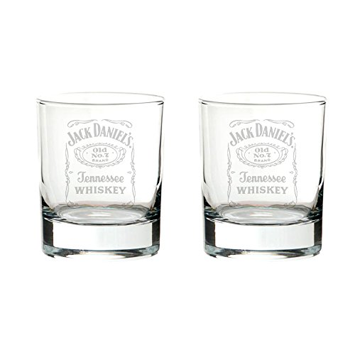 Jack Daniels - Old No.7 Brand Glass Tumbler Set