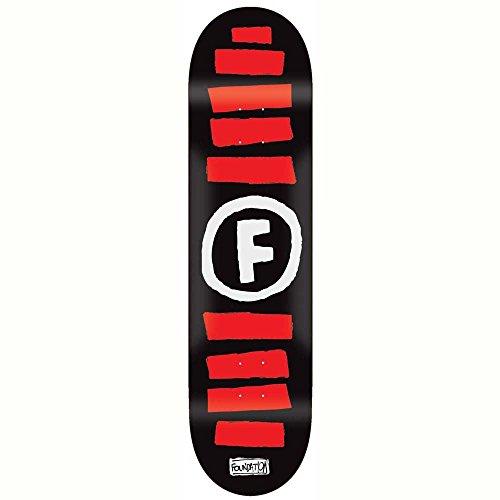 Unbekannt Skateboard Deck Foundation Doodle Stripe 8.0\'\' Skateboard Deck