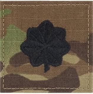Multicam OCP Rank Insignia Fastener - Lieutenant Colonel LTC