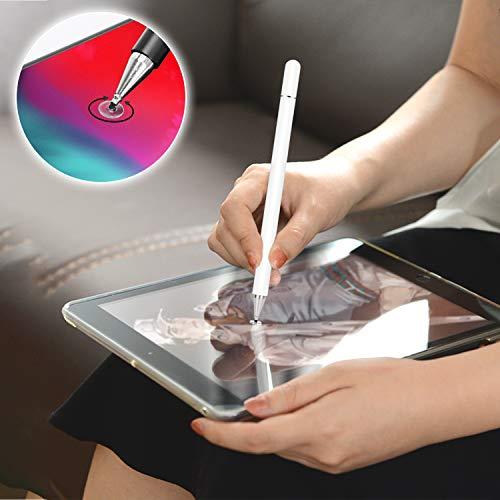 kimcrown EleganterStift Disc Eingabestift, Touchscreen Stift mit Disc-Spitze Pencil kompatibel für iPhone Handy, iPad, Samsung Galaxy, Huawei Smarttelefone und Android Tablets