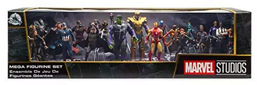 Disney Set 20 Personaggi PVC Avengers Anche Decorazione Torte - Thanos Ant-Man Thor