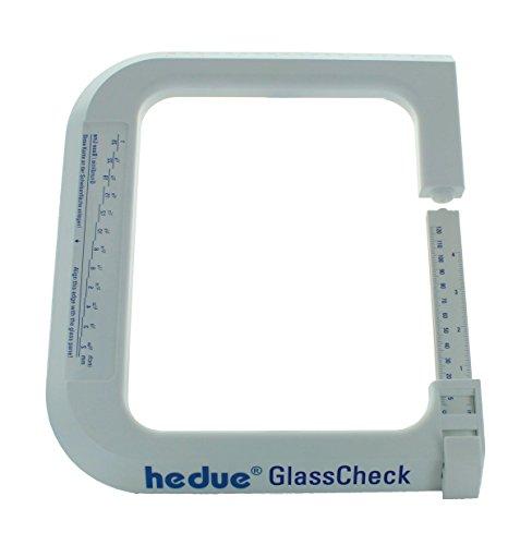 hedue S311 Glasdickenmesser GlassCheck