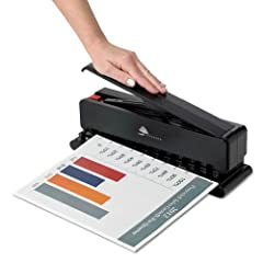 Powerful spring-loaded mechanism makes punching up to 15 pieces of copy paper almost effortless Designed with paper guides for all Circa sizes, from Micro PDA to Letter Locking handle keeps it compact on your desk or in your drawer Ideal for creating...
