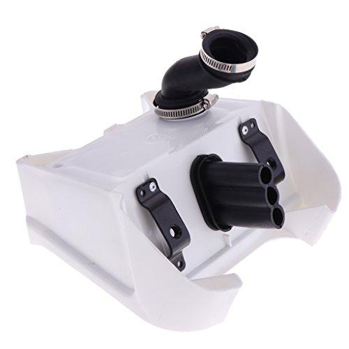 MagiDeal Filtre Boîte à Air De Moto Blanc pour Yamaha