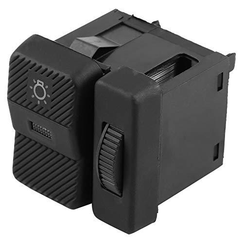Interruptor de luz de automóvil Interruptor de lámpara de cabeza de cabeza nuevo para Pa-ssat Polo Transporter 357941531 Duradero y cómodo