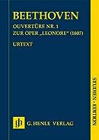 """Ouvertuere Nr. 1 zur Oper """"Leonore"""" (1807) SE: Studienpartitur; Studienedition; Orchester"""