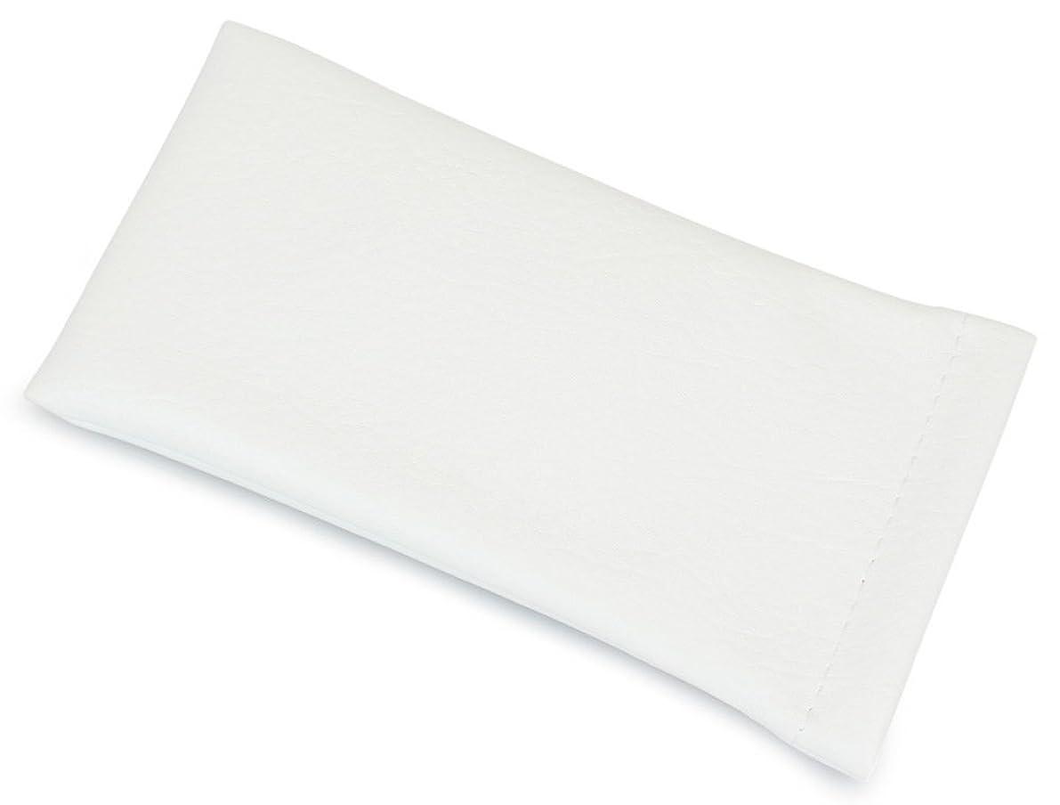 キャビン遅れ日付付きテーシーケース メガネケース 差し込みタイプ 大型 ホワイト 300171