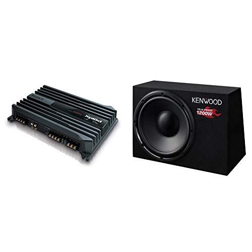 Sony XMN1004 Kfz-Verstärker (1000 Watt) & Kenwood KSC-W1200B Subwoofer (300mm, 1200 Watt)
