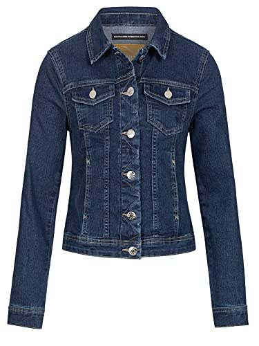ONLY Female Jeansjacke Einfarbig MMedium Blue Denim