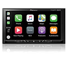 Apple CarPlay Compatible Android Auto Compatible WebLink Compatible Navigation Ready Works with Pandora, SiriusXM Ready supported internet services: PandoraSiriusXMSpotify display size: 7.0 connectivity technology: BluetoothAuxillary
