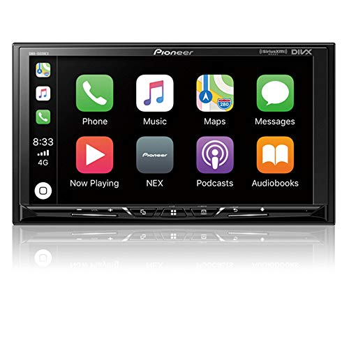 """Pioneer DMH-1500NEX Digital Media Receiver with 7"""" WVGA Display, Apple CarPlay, Android Auto, Built in Bluetooth"""