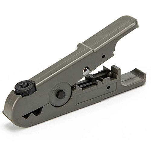 YINGGEXU Pocket Plier Alicates de Alambre de Cable coaxial Herramientas de Hardware de Cuchilla Ajustables multifunción Herramientas