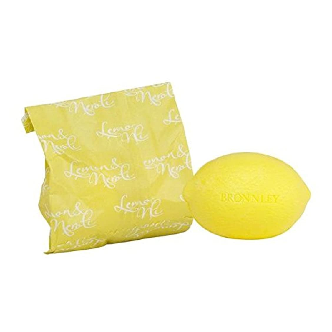 完璧大工世界記録のギネスブックレモン&ネロリ石鹸100グラム x4 - Bronnley Lemon & Neroli Soap 100g (Pack of 4) [並行輸入品]
