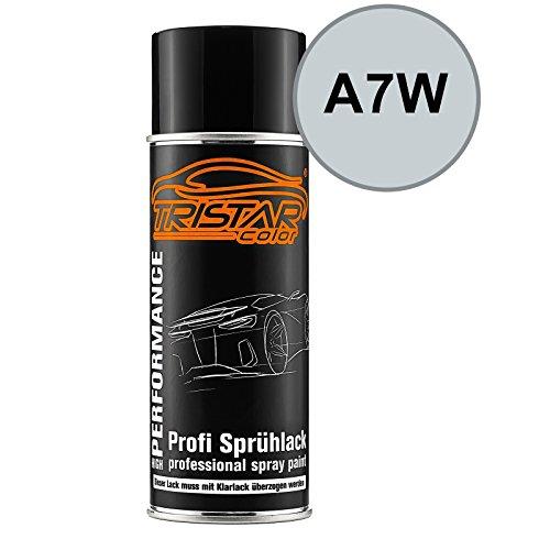 TRISTARcolor Autolack Spraydose für VW/Volkswagen A7W Reflexsilber Metallic/Plata Reflex Metallic Basislack Sprühdose 400ml