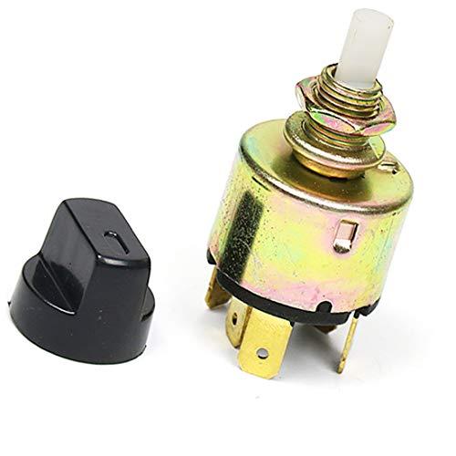 MuChangZi Interruptor Giratorio de 3 Posiciones y 5 Pin para el Sistema de Aire Acondicionado Universal de A/C