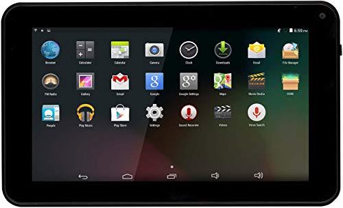 Denver TAQ-70332 7 Zoll Quad Core Tablet mit Android 8.1 GO, Schwarz