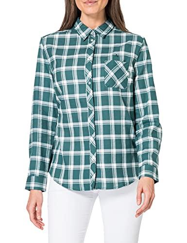 Schöffel Gateshead Sweatshirt, Felpa da Donna, Mallard Green, 42