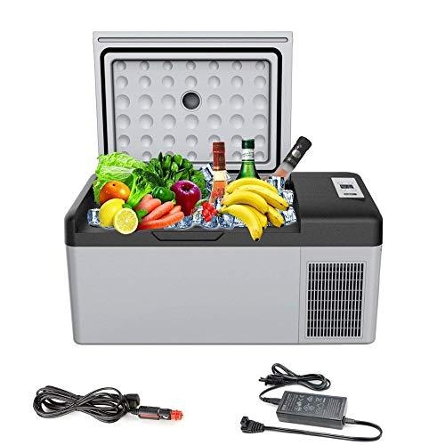 ARLT 12V 15L Portable car refrigerator small car refrigerator for domestic travel (Color Name : 15L)