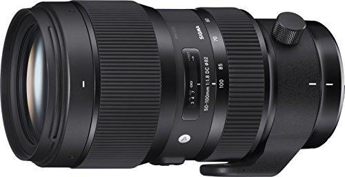 Sigma Obiettivo da 50-100mm-F/1.8 (A) DC HSM, Attacco Nikon, Nero