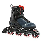 Rollerblade Unisex– Erwachsene MACROBLADE 90 Inline-Skate, Orion BLAU/SCHARF ORANGE, 275