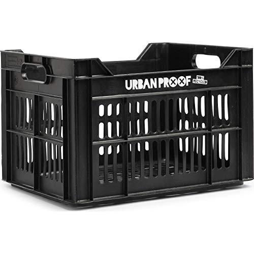 Urban Proof fahrradkiste 30 Liter Polypropylen schwarz