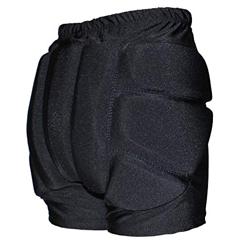 CRS Cross Padded Figure Skating Shorts – Crash Butt Pads for Hips Tailbone & Butt (Ladies Small Black)