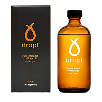 Dropi 220 ml Pure Icelandic Extra Virgin Cod Liver Oil