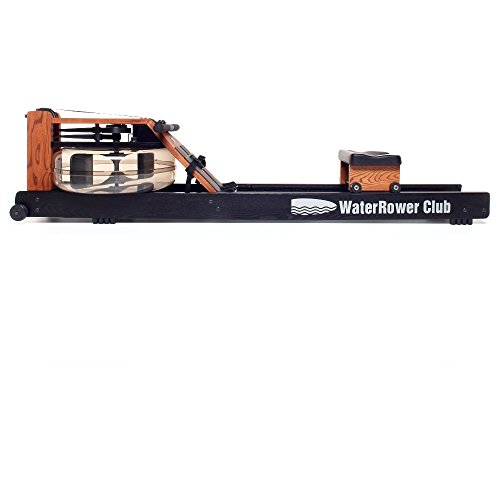 Product Image 1: WaterRower Club Rowing Machine w/ S4 Monitor & Hi Rise Attachment
