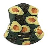 Avocado Pattern Art - Bufanda de microfibra, primavera/verano, color Farbe 1, tamaño talla única