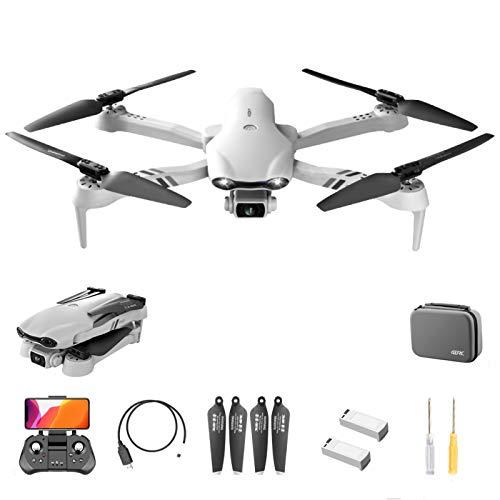 F10 GPS Drone, Camera 5G WiFi FPV Drone 6K HD, video Live e GPS tornare a casa, RC Quadcopter per gli adulti principianti con motore brushless, Follow Me, Helicopte regalo per gli amanti delloutdoor