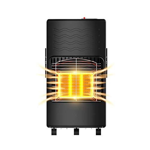 jinrun Calefactor Terraza Calentador Comercial Licenciador Calentador Inicio Indoor Estufa de calefacción rápida Calefactor para Interiores (Color : B)