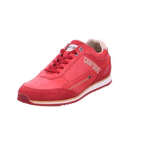 Camp David Herren Sneaker CCU-1855-8998 rot 538439