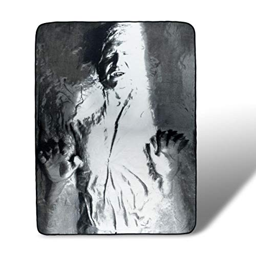 Han Solo in Carbonite Fleece Throw Blanket