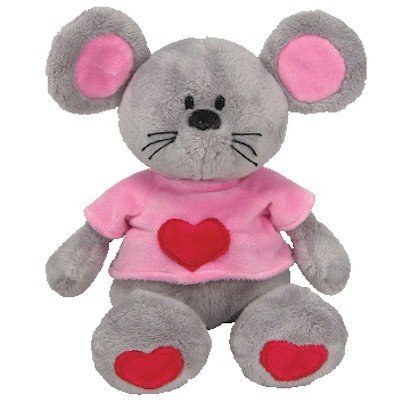 Beanie Babies Pitter the Mouse 9in Plush by Factory Card and Party Outlet