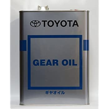 TOYOTA トヨタ純正 キャッスル ギヤオイル 85W-90 GL-3 4L 08885-01105