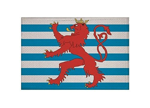 U24 Aufnäher Luxemburg Handelsflagge Fahne Flagge Aufbügler Patch 9 x 6 cm