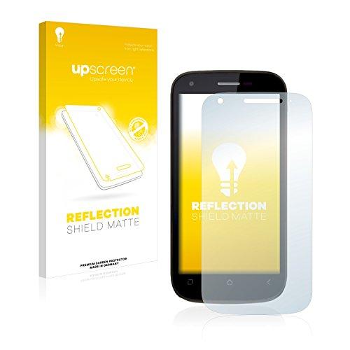 upscreen Entspiegelungs-Schutzfolie kompatibel mit Wiko Cink Peax 2 – Anti-Reflex Bildschirmschutz-Folie Matt