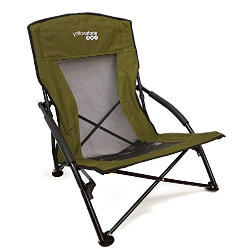 Yellowstone Adventure Folding Chair Klappstuhl, grün, S