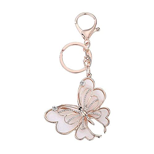 nanxing Keychain Accessories, Hot Crystal Rhinestone Key Ring Charm Pendant Bag Purse Key Chain Cute Keychains